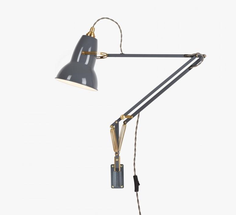 Original 1227 brass george carwardine anglepoise 31350 luminaire lighting design signed 26587 product