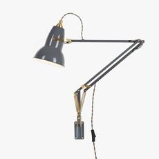 Original 1227 brass george carwardine anglepoise 31350 luminaire lighting design signed 26587 thumb