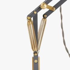 Original 1227 brass george carwardine anglepoise 31350 luminaire lighting design signed 26589 thumb