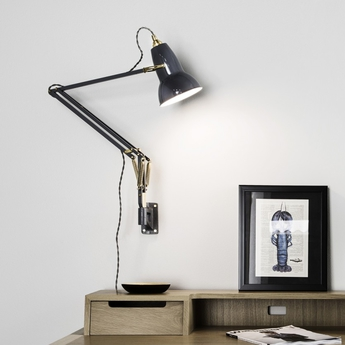 Applique murale original 1227 brass gris clair h53cm anglepoise normal
