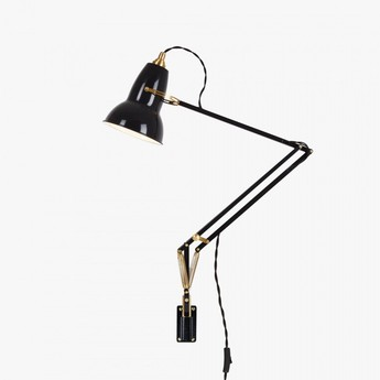Applique murale original 1227 brass noir led o15cm h60cm anglepoise normal