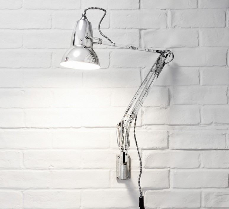 Original 1227 george carwardine applique murale wall light  anglepoise 31019  design signed 42302 product