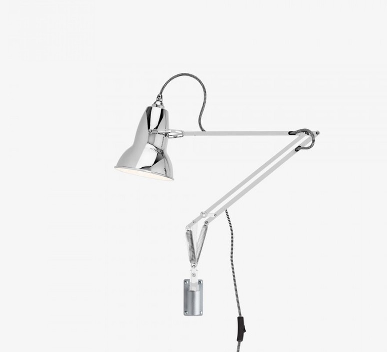 Original 1227 george carwardine applique murale wall light  anglepoise 31019  design signed 42304 product