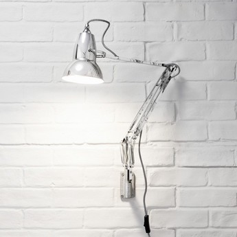 Applique murale original 1227 chrome led o14 5cm h60cm anglepoise normal