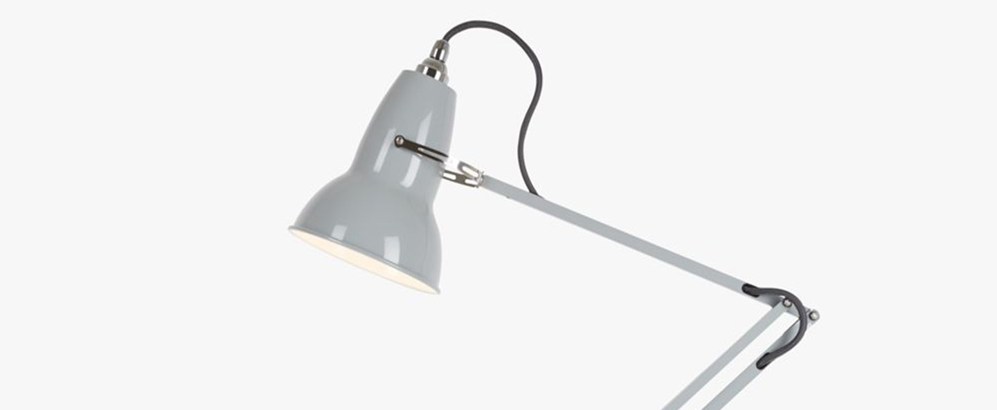 Applique murale original 1227 gris l46cm h53cm anglepoise normal