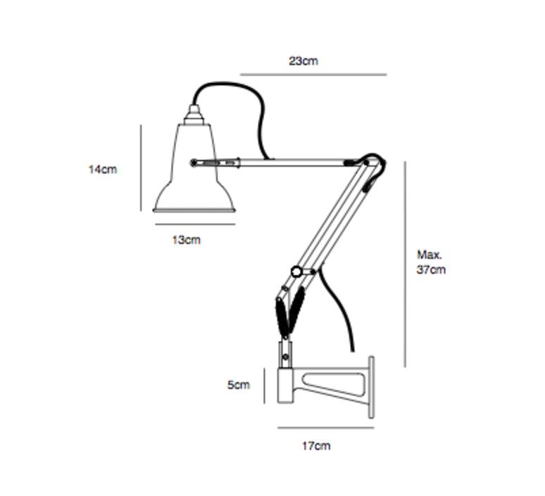 Original 1227 mini george carwardine anglepoise 31588 luminaire lighting design signed 26122 product