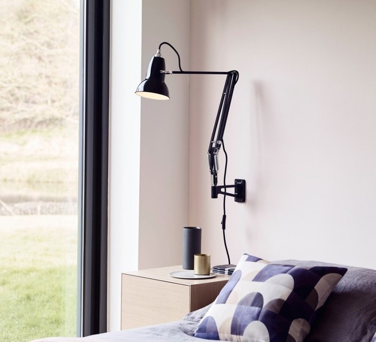 Original 1227 george carwardine applique murale wall light  anglepoise 31736  design signed 42288 product