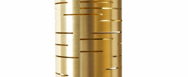 Applique murale oscar double laiton o9cm h50cm daniel gallo normal