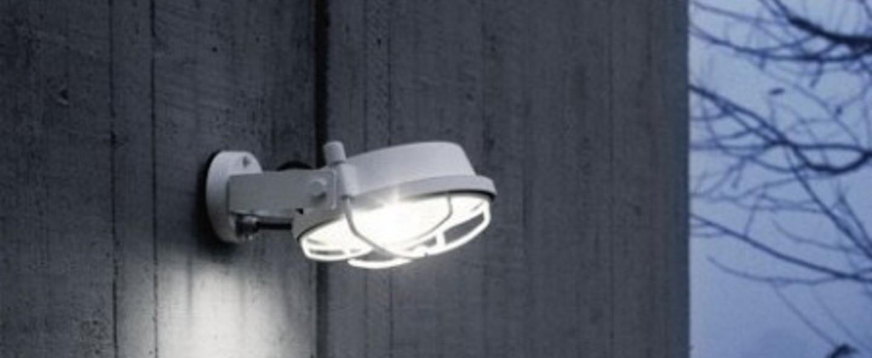 Applique murale out blanc led o26cm h11cm martinelli luce normal