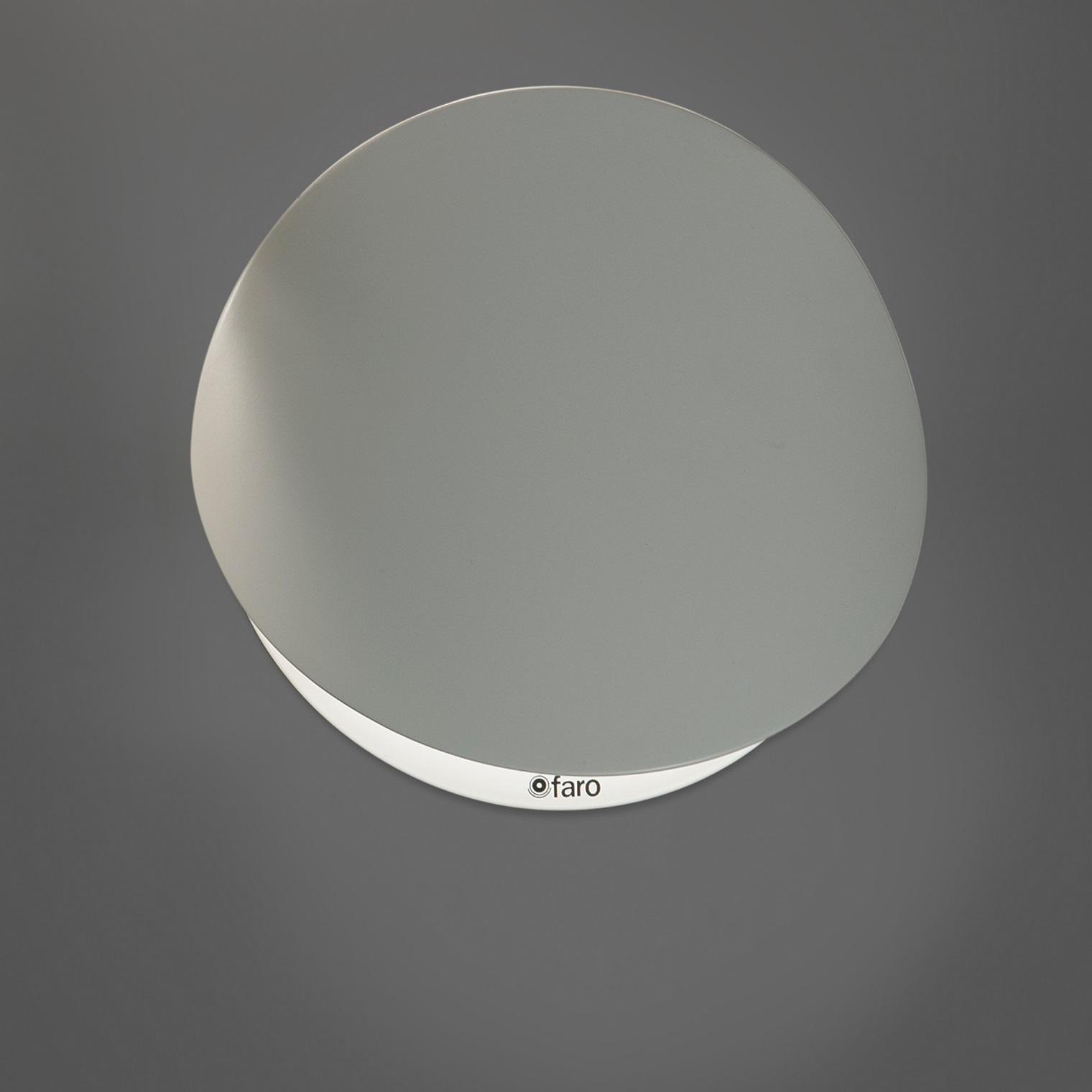 Applique murale ovo blanc 19cm faro luminaires nedgis for Applique murale exterieure faro