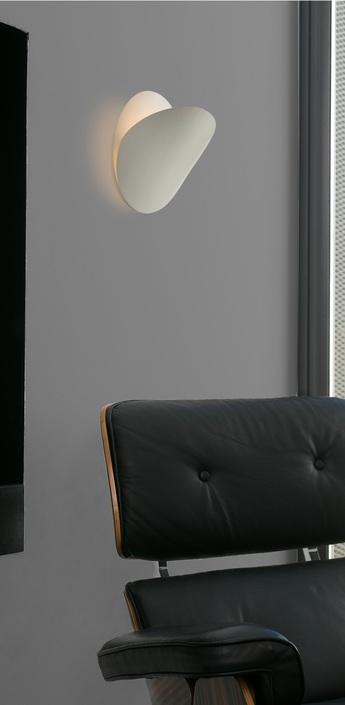 Applique murale ovo blanc o24cm faro normal