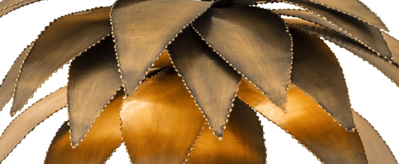Applique murale palm court laiton l44cm h43cm eichholtz normal