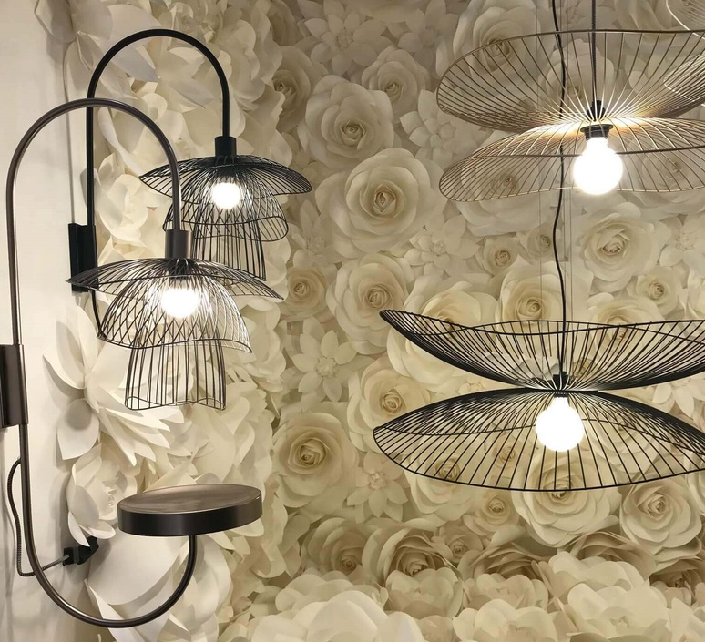Papillon xs elise fouin applique murale wall light  forestier 21013  design signed 54737 product