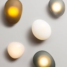 Pebble b citrine lukas peet applique murale wall light  andlight peb cw b ci 230  design signed nedgis 105509 thumb