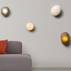 Pebble b citrine lukas peet applique murale wall light  andlight peb cw b ci 230  design signed nedgis 105517 thumb