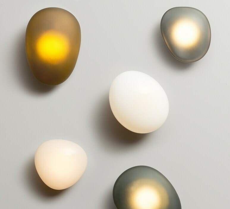 Pebble d travertine lukas peet applique murale wall light  andlight peb cw d tr 230  design signed nedgis 107023 product