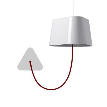 lustre 6 petit nuage blanc noir 94 cm designheure luminaires nedgis. Black Bedroom Furniture Sets. Home Design Ideas