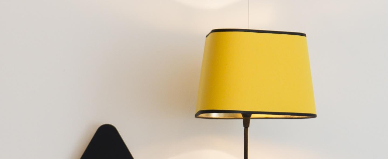 Applique murale petit nuage jaune or o24cm designheure normal