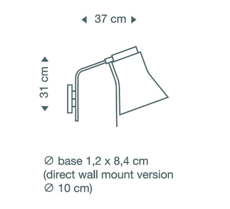 Petite 4630 seppo koho applique murale wall light  secto design 16 4630 21  design signed 42198 product