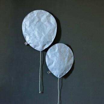 Applique murale pewter blue lighting balloon large bleu o27cm h31cm ekaterina galera normal