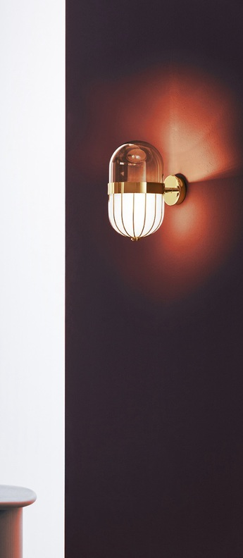 Applique murale pill blanc laiton l16cm h28cm mm lampadari 7237 a1 02 v0216 normal