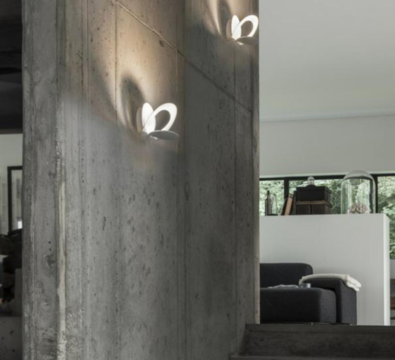 Pirce giuseppe maurizio scutella  applique murale wall light  artemide 1240010a led  design signed 61301 product