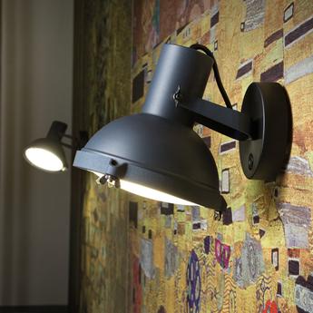 Applique murale plafonnier projecteur 165 bleu o17cm h18cm nemo lighting normal