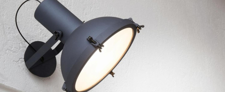Applique murale plafonnier projecteur 365 bleu o37cm h38cm nemo lighting normal