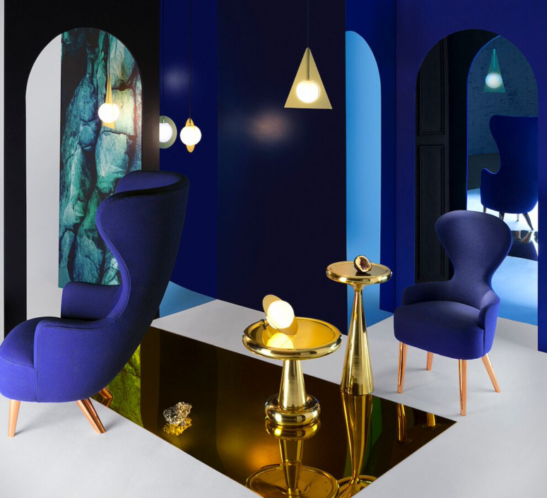 Plane triangle tom dixon applique murale wall light  tom dixon sll02beu   design signed 34059 product