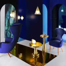 Plane triangle tom dixon applique murale wall light  tom dixon sll02beu   design signed 34059 thumb