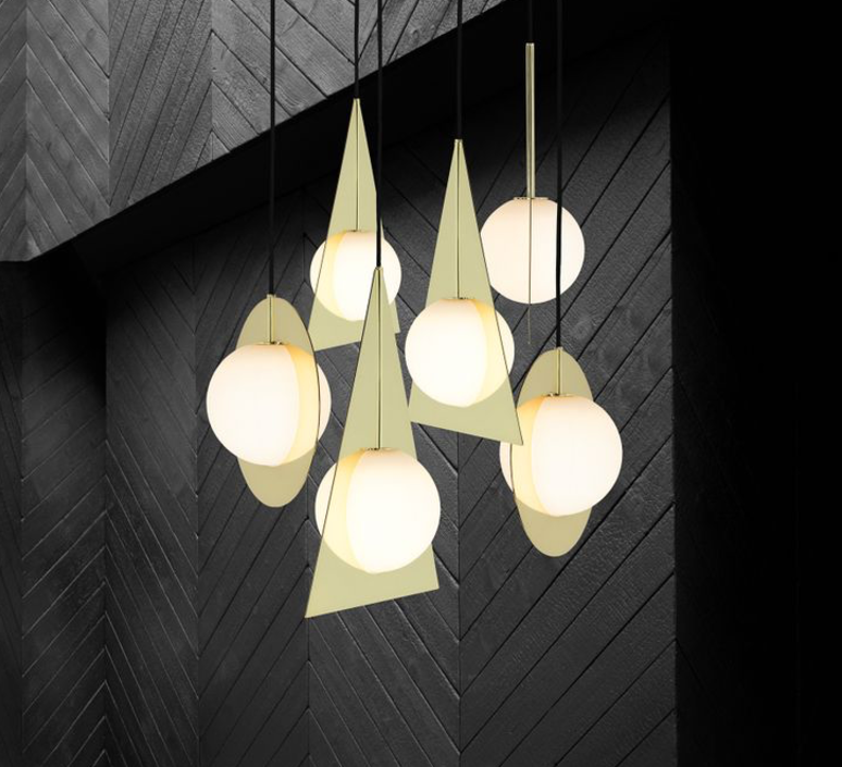 Plane triangle tom dixon applique murale wall light  tom dixon sll02beu   design signed 34062 product
