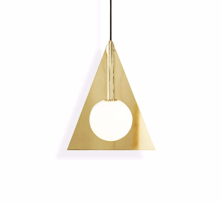 Plane triangle tom dixon applique murale wall light  tom dixon sll02beu   design signed 34064 product