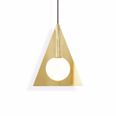 Plane triangle tom dixon applique murale wall light  tom dixon sll02beu   design signed 34064 thumb