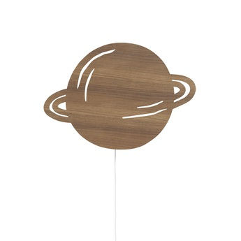 Applique murale planet lamp chene l39cm h28cm ferm living normal