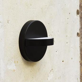 Applique murale plus noir led l18cm h18cm eno studio normal