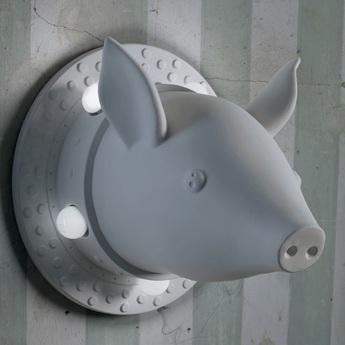 Applique murale porcamiseria blanc o40cm karman normal