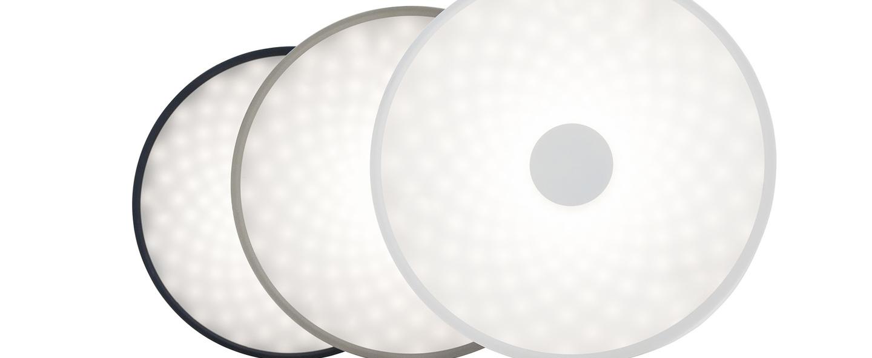 Applique murale punto gris led o50cm h50cm lumen center italia normal