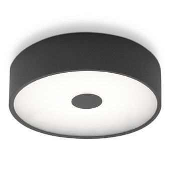 Applique murale punto p anthracite led o35cm h35cm lumen center italia normal