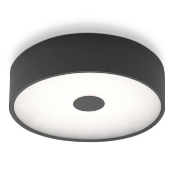 Applique murale punto p anthracite led o35cm h35cm lumen center italia normal