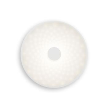 Applique murale punto p blanc led o35cm h35cm lumen center italia normal