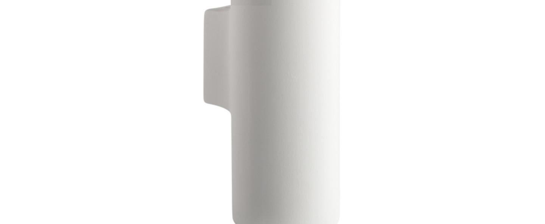 Applique murale pure porcelaine blanc o7 5cm h23cm zangra normal