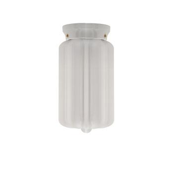 Applique murale pure porcelaine glass l004 blanc o16cm h29 5cm zangra normal