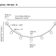 Quatorze juillet xl  applique murale wall light  cvl 14juillet wall xl  design signed 70830 thumb