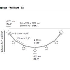 Quatorze juillet xs  applique murale wall light  cvl 14juillet wall xs  design signed 53508 thumb
