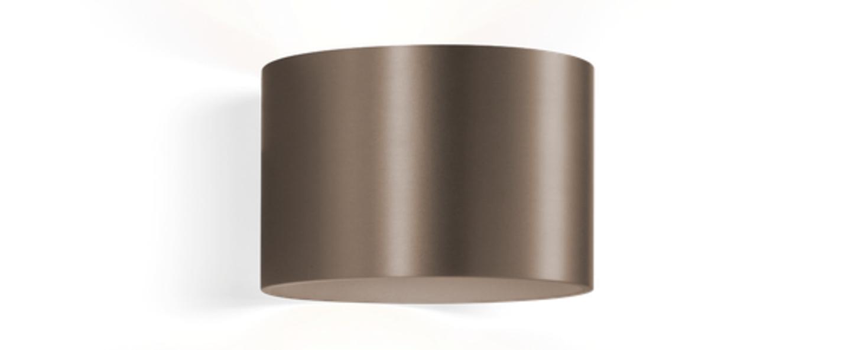 Applique murale ray 1 0 bronze o15cm h10cm wever ducre normal