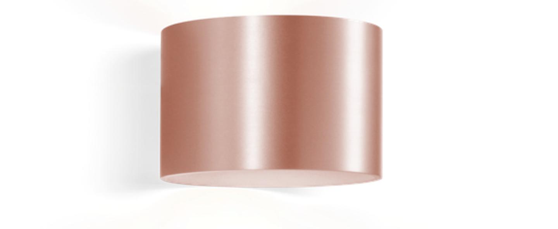 Applique murale ray 1 0 cuivre o15cm h10cm wever ducre normal