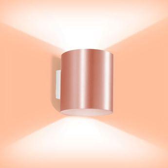 Applique murale ray 3 0 cuivre h16cm wever ducre normal