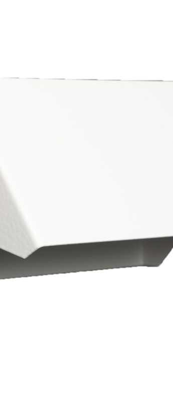Applique murale rectangle 15cm blanc et or o17cm h8cm daniel gallo normal
