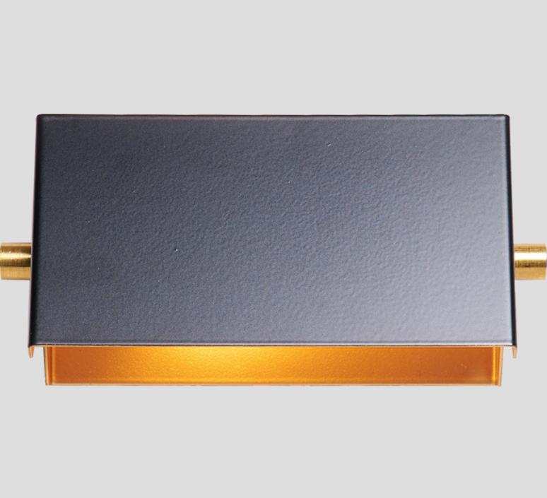 Rectangle 15cm daniel gallo applique murale wall light  daniel gallo rectangle 15cm  design signed 69958 product