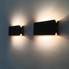 Rectangle 15cm daniel gallo applique murale wall light  daniel gallo rectangle 15cm  design signed 82384 thumb
